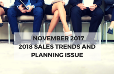 November 2017: 2018 Sales Trends and Planning Issue