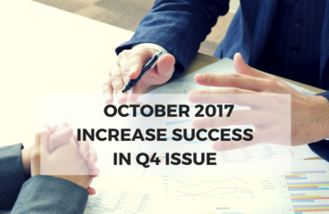 October 2017: Increase Success in Q4 Issue