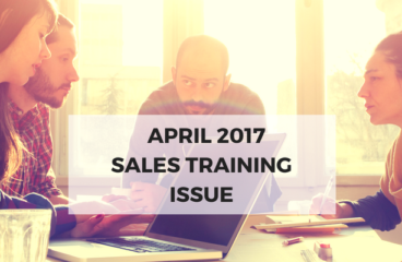 April 2017: Sales Training Issue