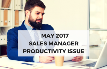 May 2017: Sales Manager Productivity Issue